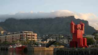 Cape Town's iconic Table Mountain looms over the city's Waterfront district. File picture: Reuters