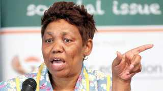 Basic Education Minister Angie Motshekga. Picture: Jason Boud/African News Agency (ANA) Archives