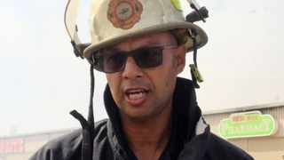 The City of Cape Town's Fire and Rescue Services spokesperson Jermaine Carelse. File photo.