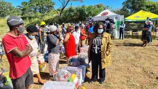 Masingene informal settlement residents in Margate, whose homes were destroyed in a recent fire, received 24 Temporary Residential Areas vouchers, blankets and building materials on Saturday from the Departments of Social Development, Human Settlements and Public Works.