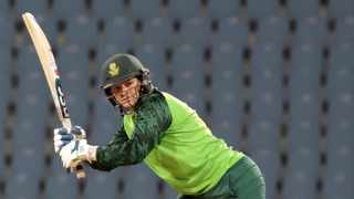 Lizelle Lee batting during the first 2021 Womens T20 Series game against India in Lucknow. Photo: /Gauraw Singh/CSA via Backpage