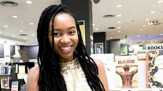 Author Jackie Phamotse.