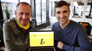 Co-founders Gidon Novick and Jonathan Ayache. Picture: Supplied.
