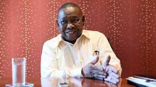File photo: SACP general secretary Blade Nzimande has reiterated that the party is not impressed with the decision by President Cyril Ramaphosa's administration to secure around R70-billion from the International Monetary Fund. Picture: Antoine de Ras/ANA Pics