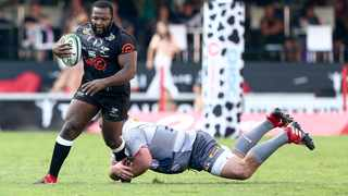 Prop Ox Nche says the Sharks' forwards on upward curve. Picture: Leon Lestrade/African News Agency (ANA)