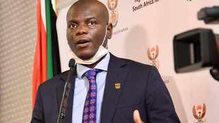 Minister of Justice and Correctional Services Ronald Lamola. Picture: GCIS