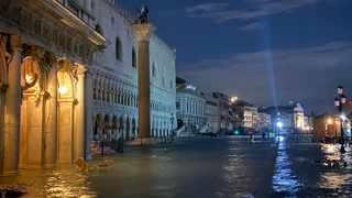 Venice has hit by the worst floods in more than 50 years at the end of last year. Picture: Twitter/Luigi Brugnaro.