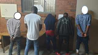 Five undocumented foreign nationals aged were arrested for allegedly creating fake documents such as matric and university certificates. Picture: EMPD
