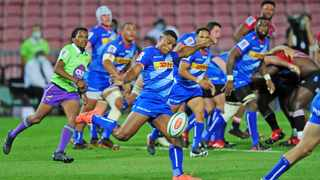 Damian Willemse in action against the Lions during their Super Rugby Unlocked clash. Picture: Ryan Wilkisky/BackpagePix