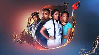 Actors Sello Maake Ka Ncube and Lerato Mvelase star in 'The Station'. Picture: Supplied.