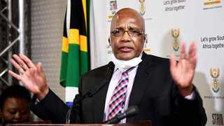 South African Minister of Home Affairs Dr Aaron Motsoaledi. File photo: Jairus Mmutle/GCIS