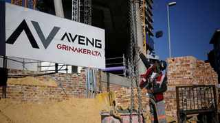 Infrastructure, resources and contract mining group Aveng is back in the black, reporting its first headline per share profit since 2014 after all its main subsidiaries made profits in the six months to December 31. Photo: Reuters