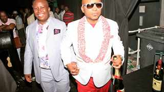 Kenny Kunene, seen with Julius Malema, has pledged to behave.