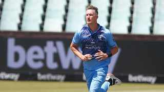 Chris Morris of the Multiply Titans during the CSA T20 Challenge. Photo: Steve Haag/BackpagePix