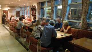 PATRONS at Vintage India in Gardens, Cape Town. Picture supplied