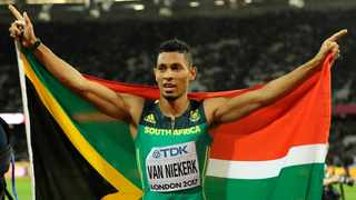 Top athletes such as Wayde van Niekerk had to fly to Europe to compete in events over the last few months, as local athletes were not allowed to utilise any facilities in South Africa. Picture: Tim Ireland/AP