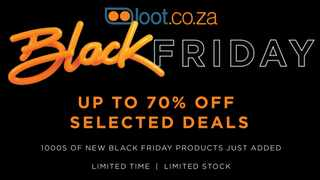 Save with Loot.co.za on Black Friday