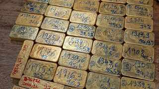 Gold bars weighing 73.5kg along with foreign currency was seized at OR Tambo airport for further investigation under the Customs and Excise Act and the Exchange Control Regulations.