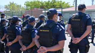 A total of 60 officers have been appointed through the Western Cape Safety Plan to curb the latest spate of gang-related violence in Hanover Park. Picture: Supplied / City of Cape Town