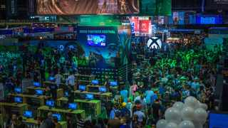 CGL and Xbox South Africa co-hosted the Xbox Fortnite Festival at the rAge Expo in 2018. Picture: Kalven de Oliveira
