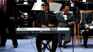 Stevie Wonder called on his fellow Americans to stand united no matter who wins the presidential election. Picture: Mike Segar/Reuters
