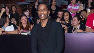 A$AP Rocky arrives at the premiere of Summit Entertainment's 'Divergent' at the Regency Bruin Theatre on March 18, 2014 in Los Angeles, California. Picture: Bang Showbiz