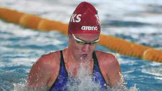 Kaylene Corbett booked her ticket to the Tokyo Olympics. Picture: Deryck Foster/BackpagePix