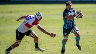 Reinhard Nothnagel of the Xerox Lions and Arno Botha of the Vodacom Bulls during the 2020/21 Carling Black Label Currie Cup. Photo: Photo: Christiaan Kotze/BackpagePix