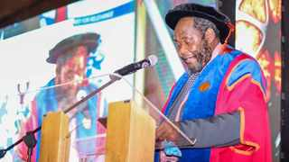 I had the privilege of receiving an Honorary Doctorate in Commerce from the University of Zululand last Saturday. Photo: Supplied