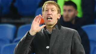 FILE - Brighton & Hove Albion manager Graham Potter. Photo: Glyn Kirk/Reuters