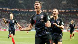 FILE - Croatia's Mario Mandzukic made a habit of scoring important goals at the World Cup, netting against Denmark in the round of 16 and scoring England in the semi-finals. Photo: Frank Augstein/AP