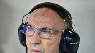 Frank Williams, who built the Williams team into a dominant Formula One force in the 1980s and 1990s, is in a stable condition after being admitted to hospital. Photo: John Thys/AFP