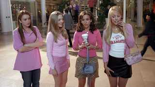 Lindsay Lohan, Amanda Seyfried, Lacey Chabert and Rachel McAdams in 'Mean Girls'. Picture: Paramount Pictures