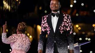 Shepherd Bushiri of the Enlightened Christian Gathering and his wife Mary. File Picture: Wikus de Wet/AFP