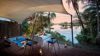 Thorntree River Lodge outside of Livingstone in Zambia boasts 12 spacious private suites, suitable for social distancing.Picture: Supplied.