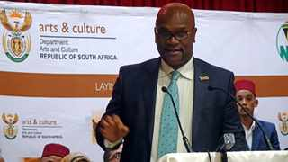 Minister of Sports, Arts and Culture, Nathi Mthethwa. Photo: Ian Landsberg/African News Agency (ANA)