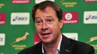 FILE - Jurie Roux (Saru CEO) chats to media. Photo: Ryan Wilkisky/BackpagePix