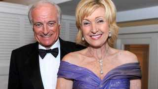 US Ambassador to South Africa Lana Marks and her husband Dr Neville Marks. File picture: Meghan McCarthy/Palm BEach Post via AP