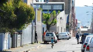 Residents of Bromwell Street in Woodstock. Judgment in the Bromwell matter, where residents have taken the City to court over housing, was reserved yesterday. Picture: Phando Jikelo/African News Agency