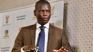 Justice and Correctional Services Minister Ronald Lamola. Picture: GCIS