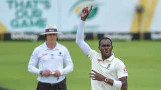 Ben Stokes and Jofra Archer (pictured) will return to the England side for their India Tests starting next month, with captain Joe Root saying Thursday the players will give the team a 'major boost.' Photo: Catherine Kotze/BackpagePix