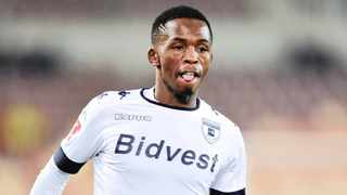 Thabang Monare in action for the Clever Boys. Photo: Samuel Shivambu