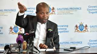 Gauteng MEC for Human Settlements, Urban Planning and Co-operative Governance Lebogang Maile. Picture: Itumeleng English/African News Agency(ANA)