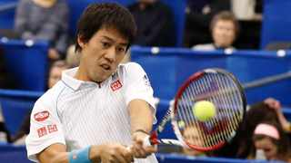 Japan's Kei Nishikori has withdrawn from the 2020 US Open. Photo: Rogelio V. Solis/AP