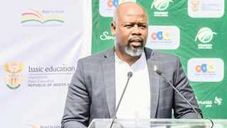 The Gauteng Cricket Board has called for Thabang Moroe to resign. Photo: Christiaan Kotze/BackpagePix