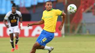 Rivaldo Coetzee delivered yet another near-perfect performance in the 4-1 victory over Orlando Pirates in the Nedbank Cup quarter-final. Picture: Sydney Mahlangu/BackpagePix