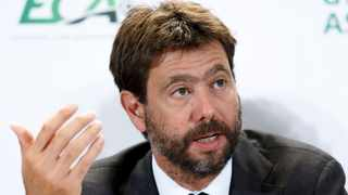 FILE - Juventus president Andrea Agnelli fears European clubs could lose up to €8.5 billion because of the Covid-19 pandemic. Photo: Salvatore Di Nolfi/AP