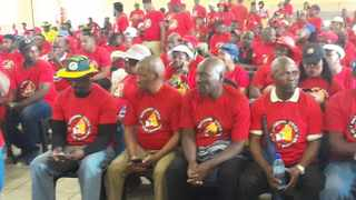 National Union of Mineworkers (NUM) members. Picture: Molaole Montsho/African News Agency (ANA)