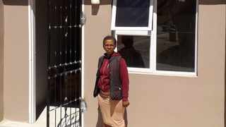 New homeowner Thandiswa Magala. Picture: Supplied.