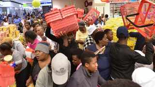 BankservAfrica said last year South Africans spent R2.89 billion on Black Friday sales, a 15.92 percent rise in sales compared with 2017's R2.49bn. Photo: Oupa Mokoena/African News Agency (ANA)